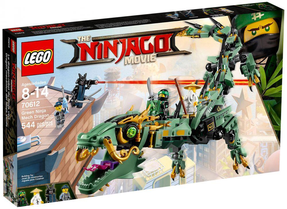 Lego ninjago 70612 pas cher le dragon d 39 acier de lloyd - Lego ninjago d or ...