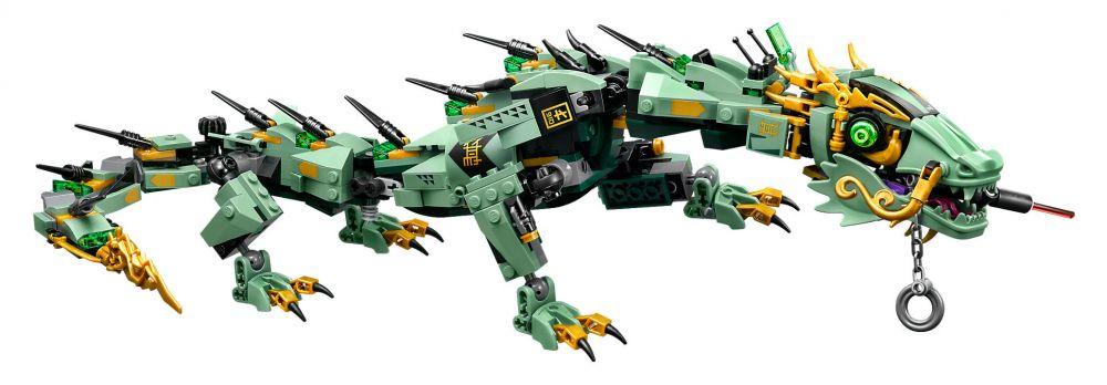 lego ninjago 70612 pas cher le dragon d 39 acier de lloyd. Black Bedroom Furniture Sets. Home Design Ideas