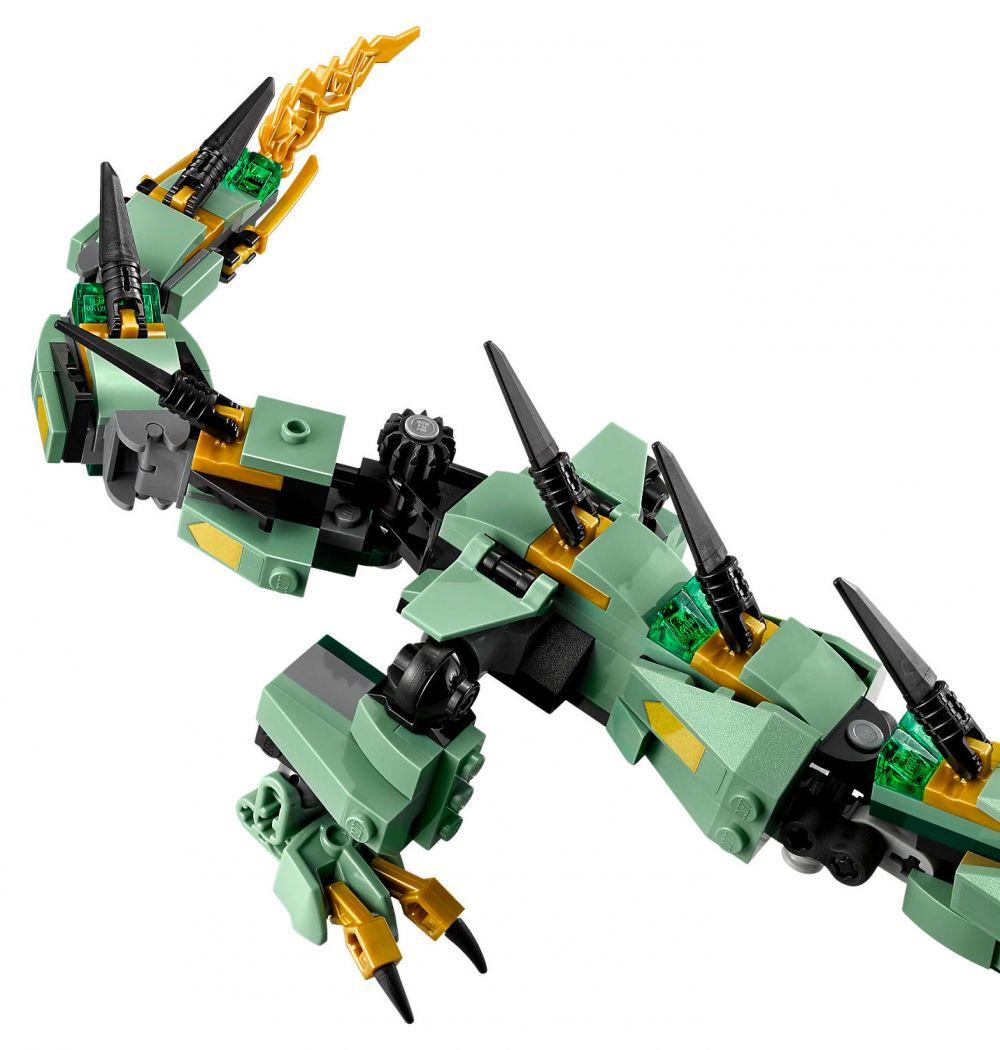 Lego ninjago 70612 pas cher le dragon d 39 acier de lloyd - Ninjago dragon d or ...