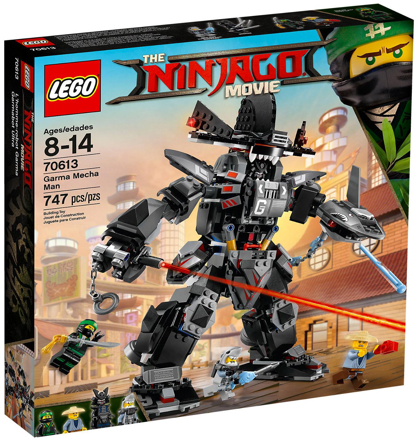 Lego ninjago 70613 pas cher le robot de garmadon - Photo lego ninjago ...