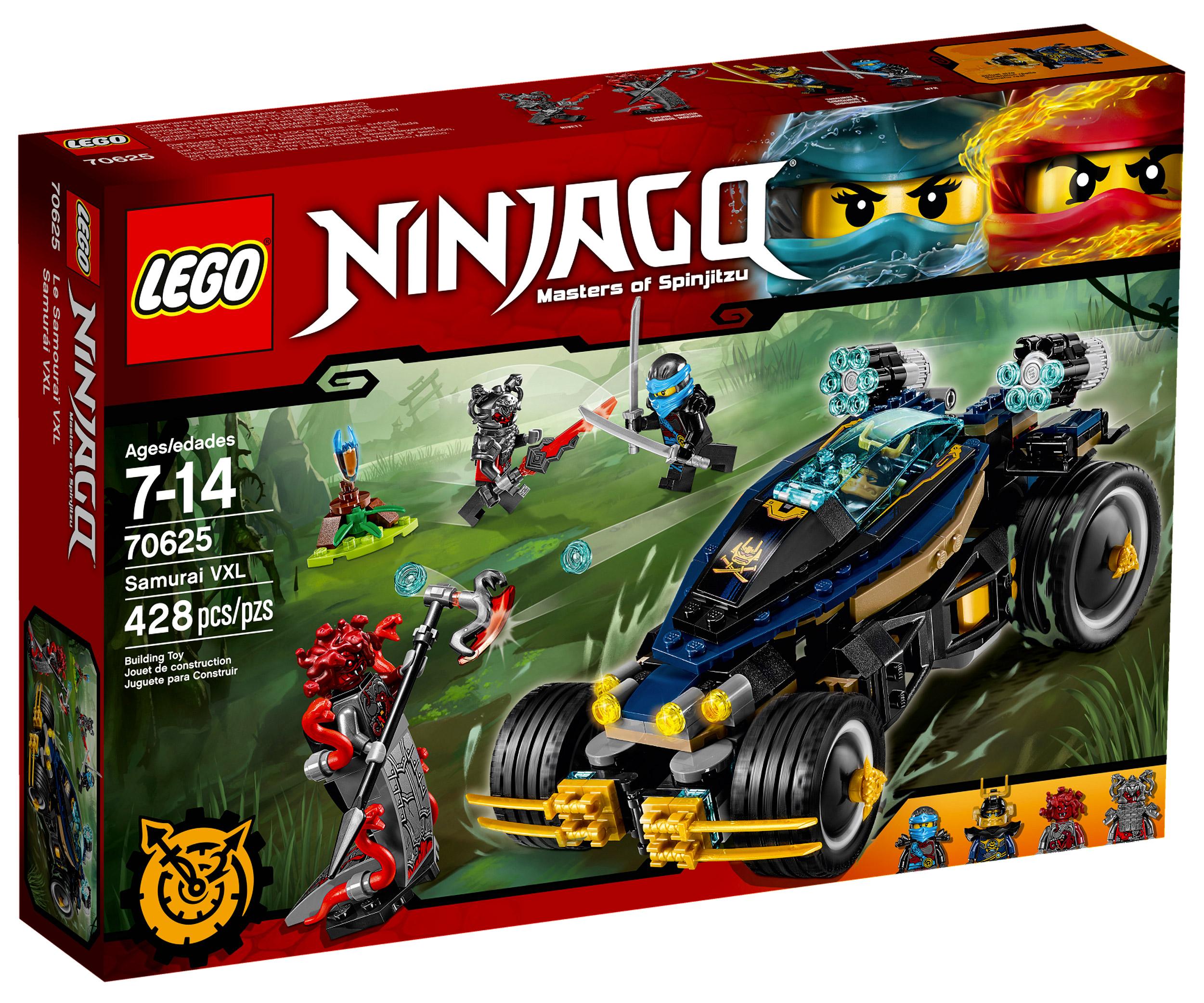 Lego ninjago 70625 pas cher le samoura vxl - Lego ninjago nouvelle saison ...