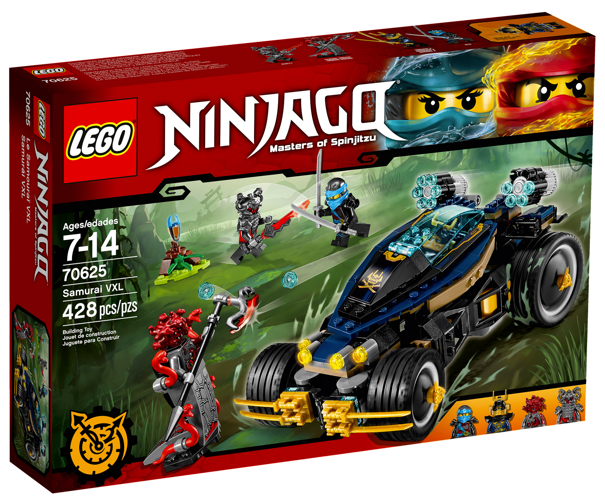 Lego ninjago 70625 pas cher le samoura vxl - Photo lego ninjago ...