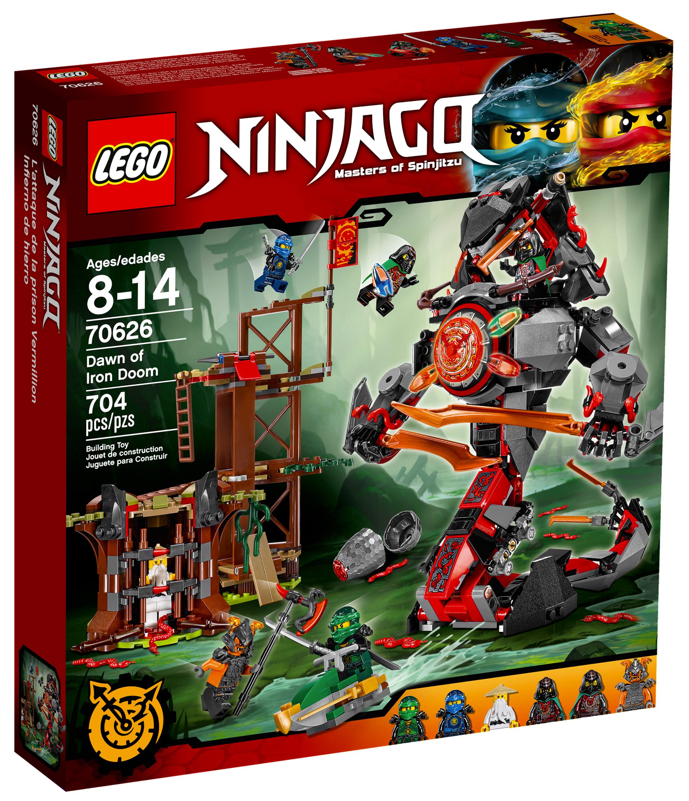 Lego ninjago 70626 pas cher l attaque de la prison vermillion - Lego ninjago 6 ...