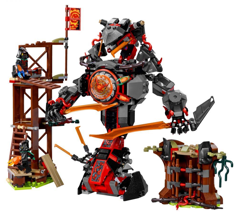 Lego ninjago 70626 pas cher l attaque de la prison - Lego ninjago d or ...