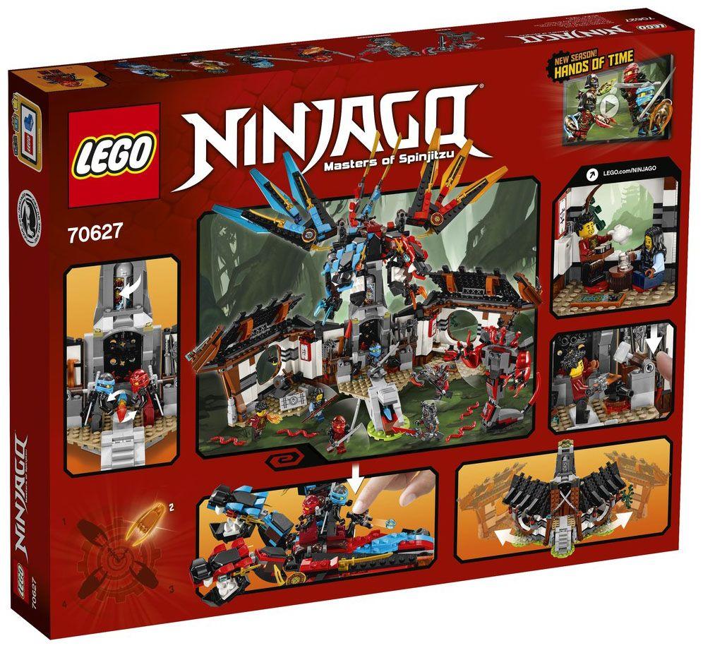 LEGO Ninjago 70627 pas cher - La forge du dragon