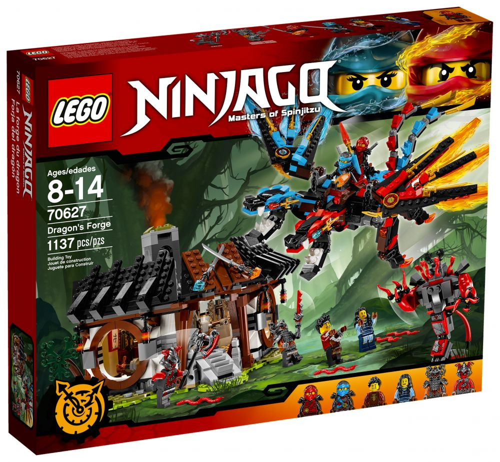 lego ninjago 70627 pas cher la forge du dragon. Black Bedroom Furniture Sets. Home Design Ideas