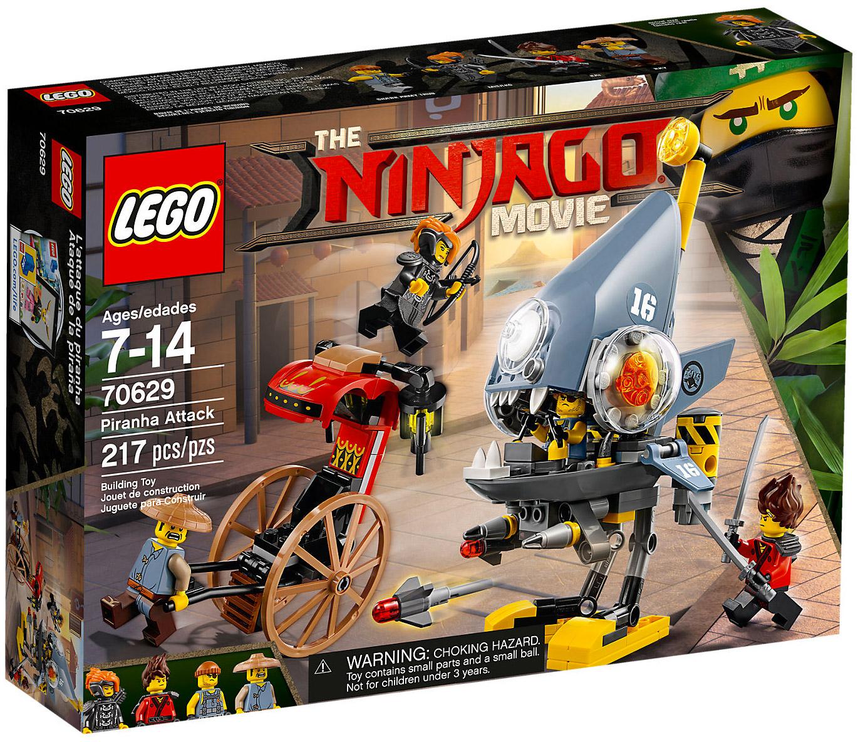Lego ninjago 70629 pas cher l 39 attaque des piranhas - Lego ninjago nouvelle saison ...