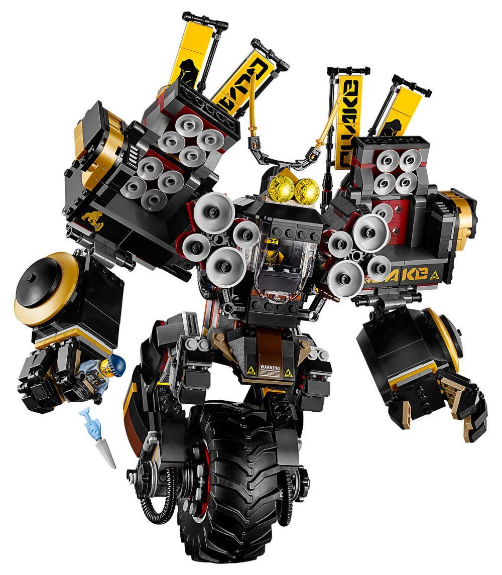 Lego ninjago 70632 pas cher le robot sismique - Lego ninjago voiture ...