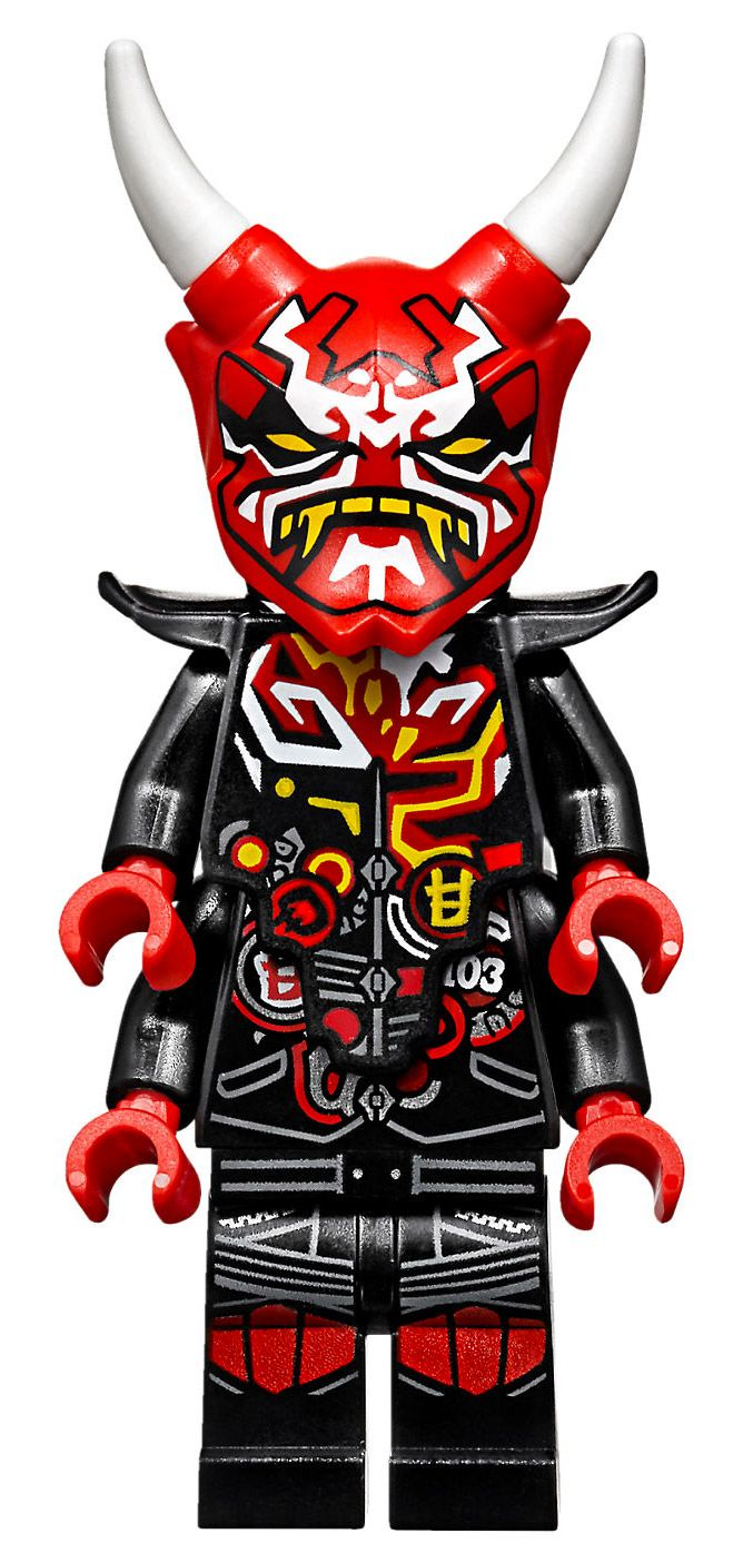 LEGO Ninjago 70639 pas cher, La Course de rues en motos