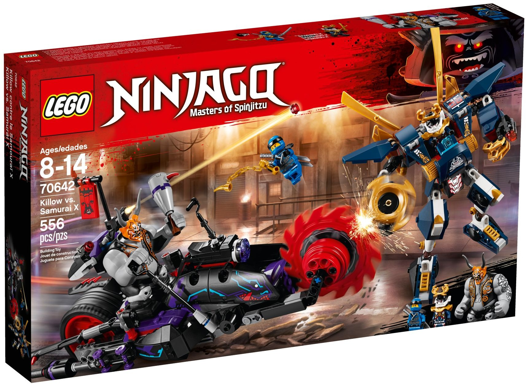 Samouraï X Le Killow Contre 70642 Ninjago Lego lcKJF1