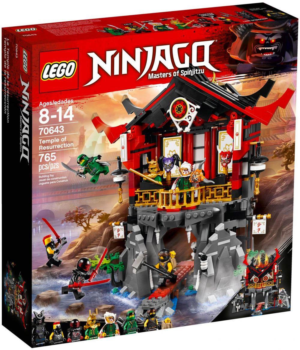 lego ninjago 70643 pas cher le temple de la renaissance. Black Bedroom Furniture Sets. Home Design Ideas