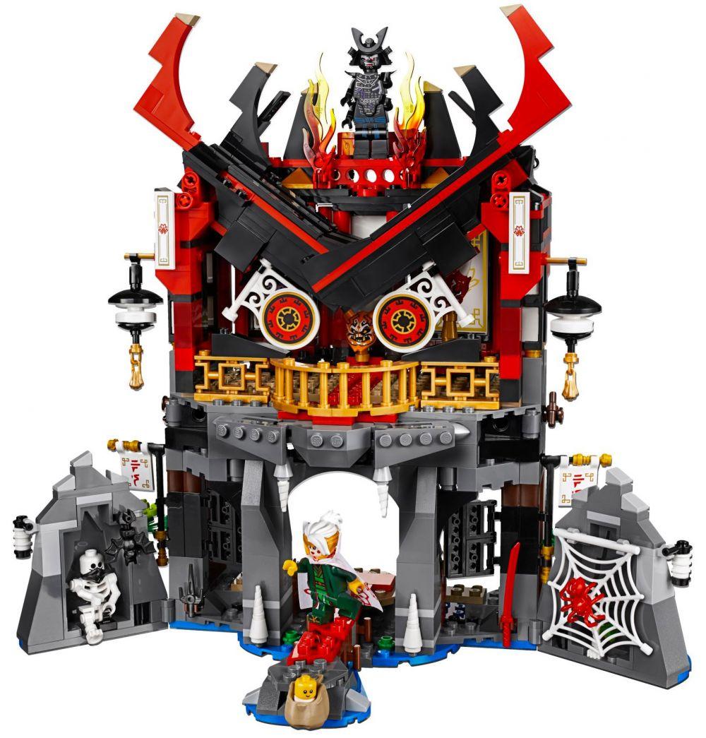 Lego ninjago 70643 pas cher le temple de la renaissance - Lego ninjago d or ...