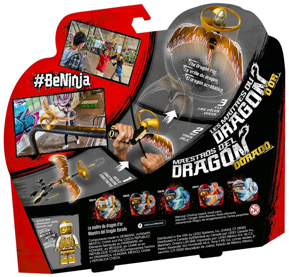 Lego ninjago 70644 pas cher le ma tre du dragon d 39 or - Lego ninjago d or ...