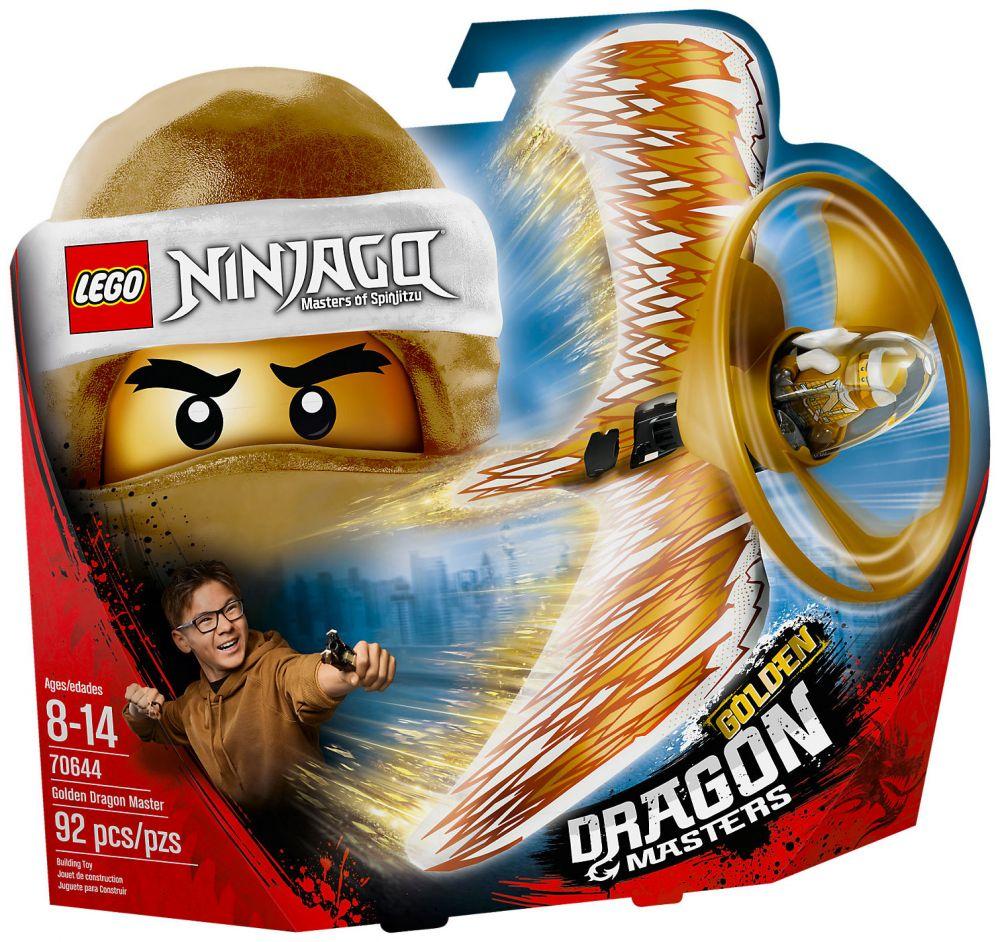 lego ninjago 70644 pas cher le ma tre du dragon d 39 or. Black Bedroom Furniture Sets. Home Design Ideas