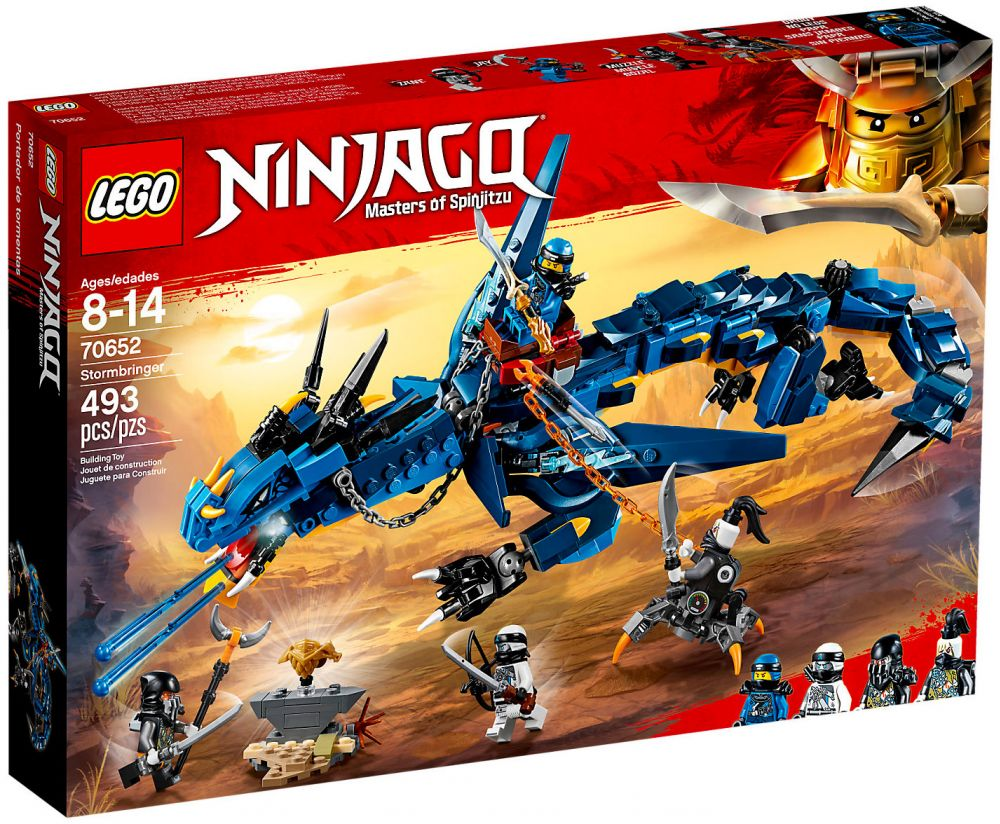 lego ninjago 70652 pas cher le dragon stormbringer. Black Bedroom Furniture Sets. Home Design Ideas