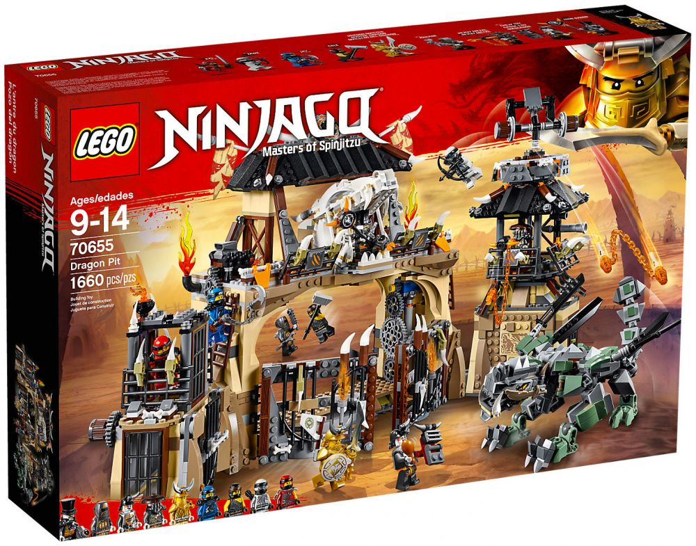 lego ninjago 70655 pas cher la tani re du dragon. Black Bedroom Furniture Sets. Home Design Ideas