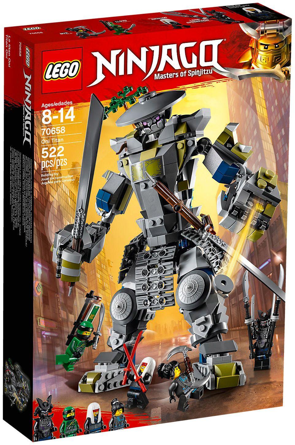Lego ninjago 70658 pas cher oni titan - Photo lego ninjago ...