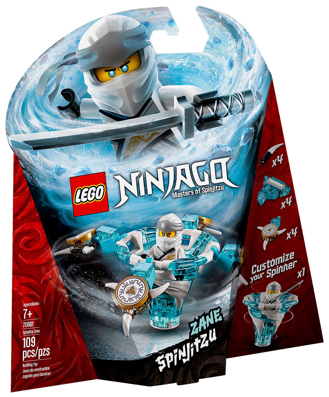 lego ninjago 70661 pas cher toupie spinjitzu zane
