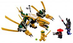 LEGO Ninjago 70666 Le dragon d'or