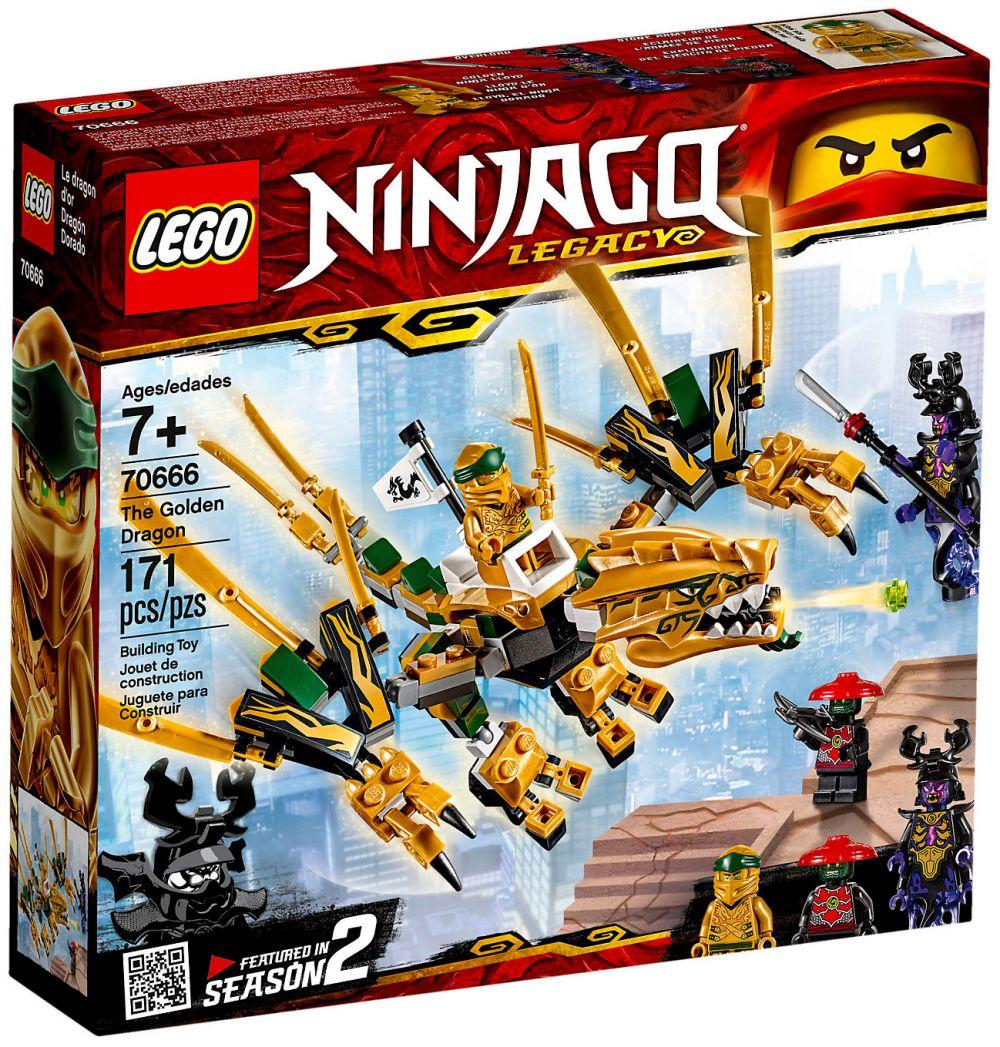 lego ninjago 70666 pas cher le dragon d 39 or. Black Bedroom Furniture Sets. Home Design Ideas