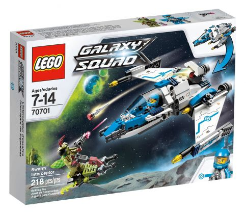 LEGO Galaxy Squad 70701 L'intercepteur cosmique