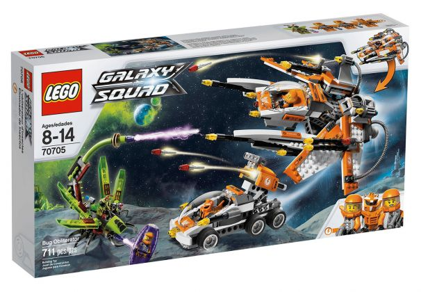 LEGO Galaxy Squad 70705 Le vaisseau insecticide