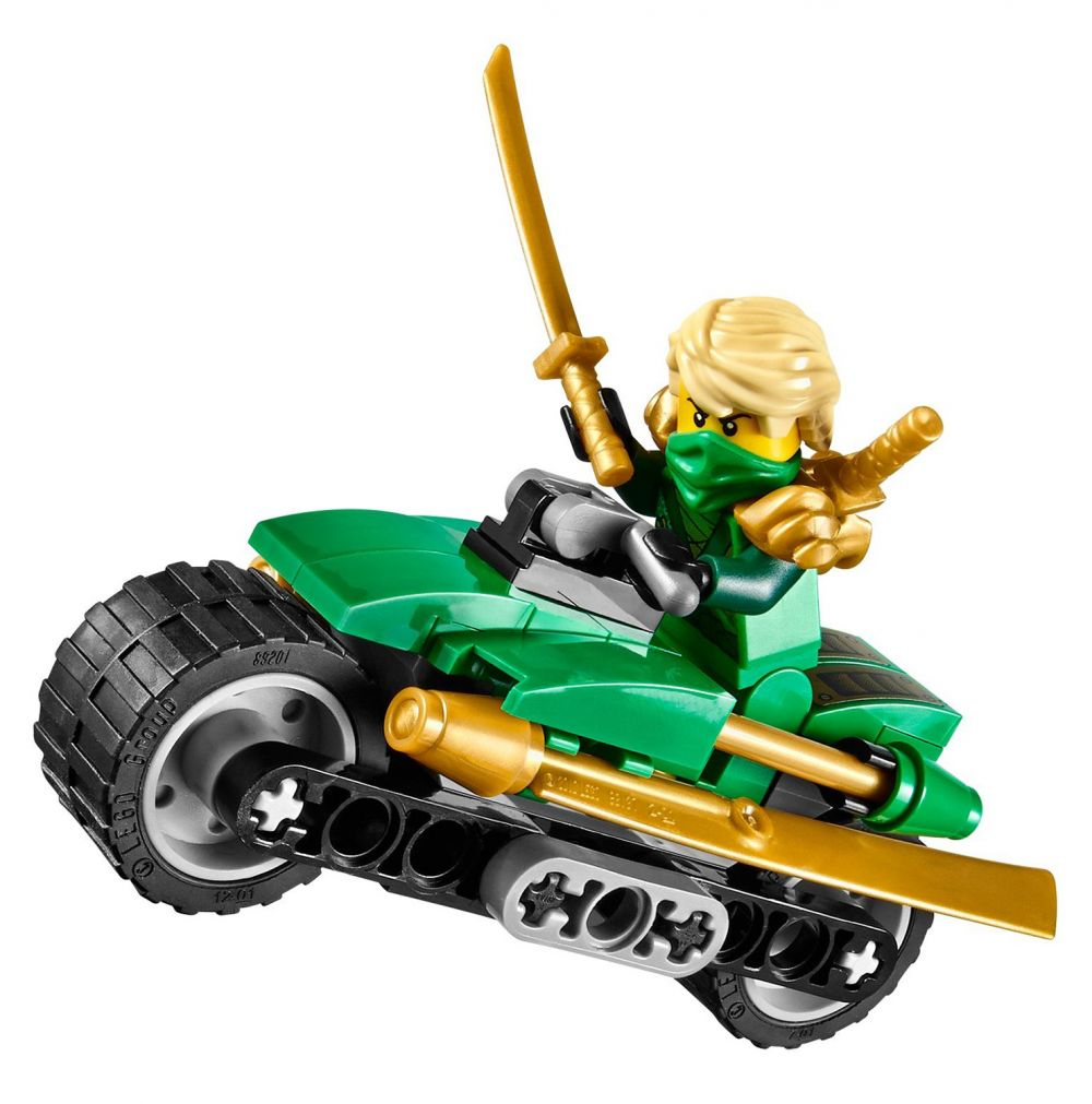 Lego ninjago 70722 pas cher l 39 attaque d 39 overborg - Lego ninjago d or ...