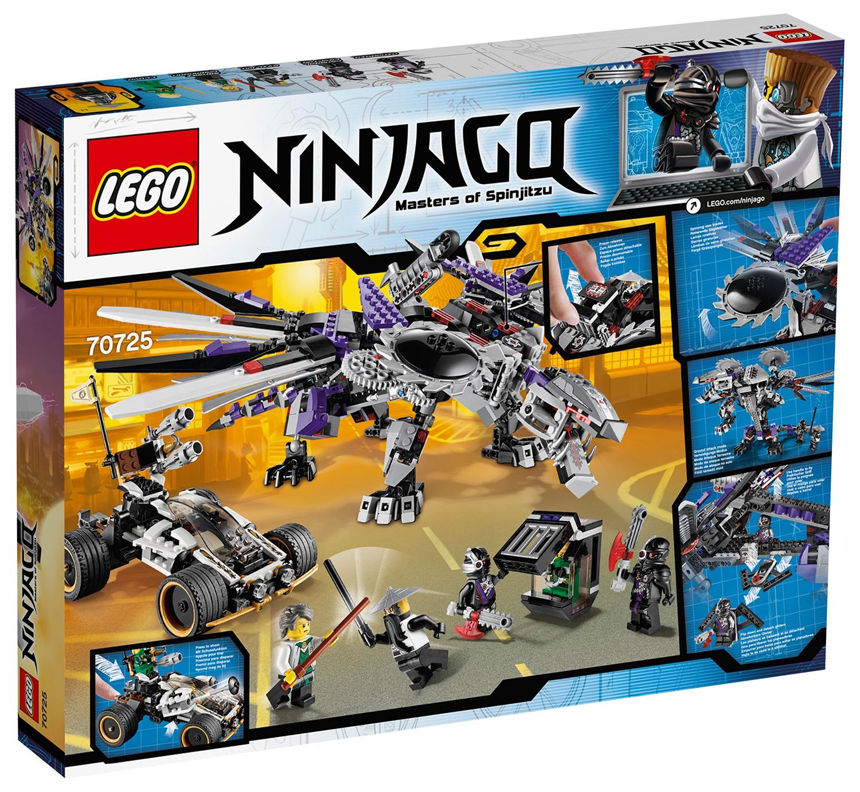 Lego ninjago 70725 pas cher l 39 attaque du dragon nindro de - Lego ninjago voiture ...