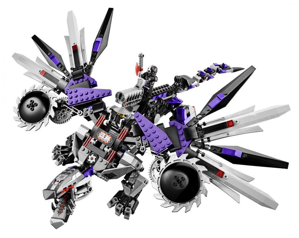 lego ninjago 70725 pas cher l 39 attaque du dragon nindro de. Black Bedroom Furniture Sets. Home Design Ideas