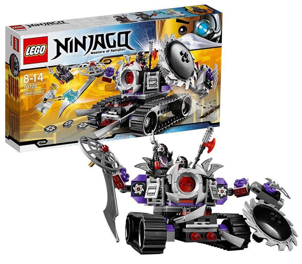 Lego 70726  Le destructoide  prix  Briqueo