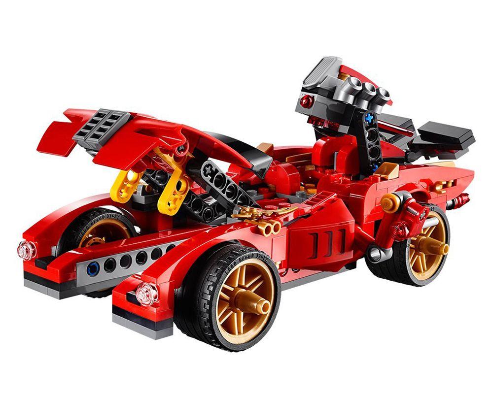 LEGO FIGURINE POLYBAG LIMITED SCELLE MINIFIGURINE NINJAGO KAI LE NINJA ROUGE