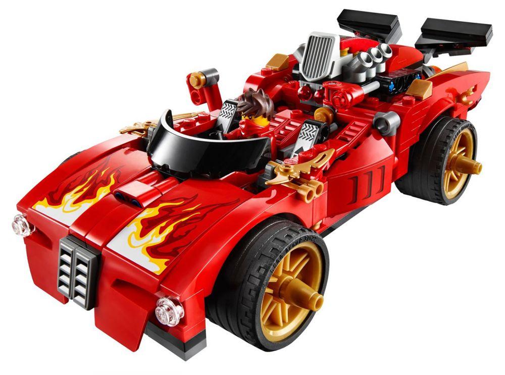 Lego ninjago 70727 pas cher le ninja x 1 - Lego ninjago voiture ...