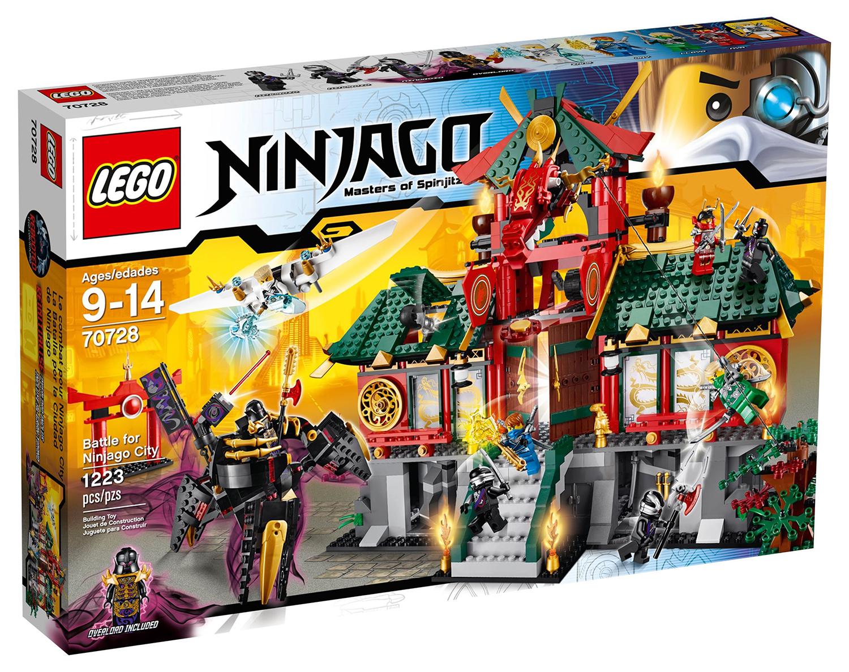 Lego ninjago 70728 pas cher le temple de ninjago city - Ninjago nouvelle saison ...