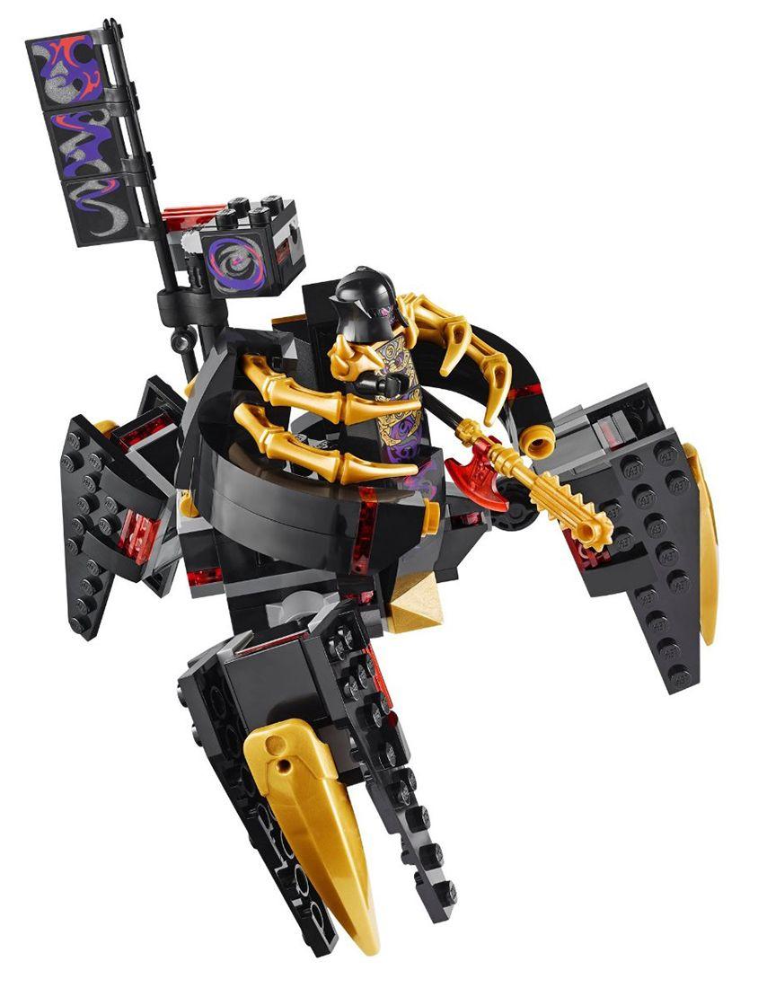 Lego ninjago 70728 pas cher le temple de ninjago city - Lego ninjago d or ...