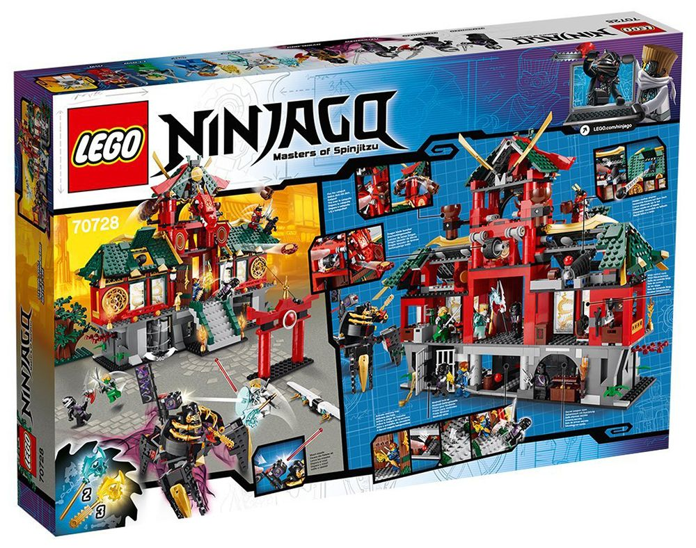 De Lego 70728 Le Ninjago City Temple tsxChQrdoB