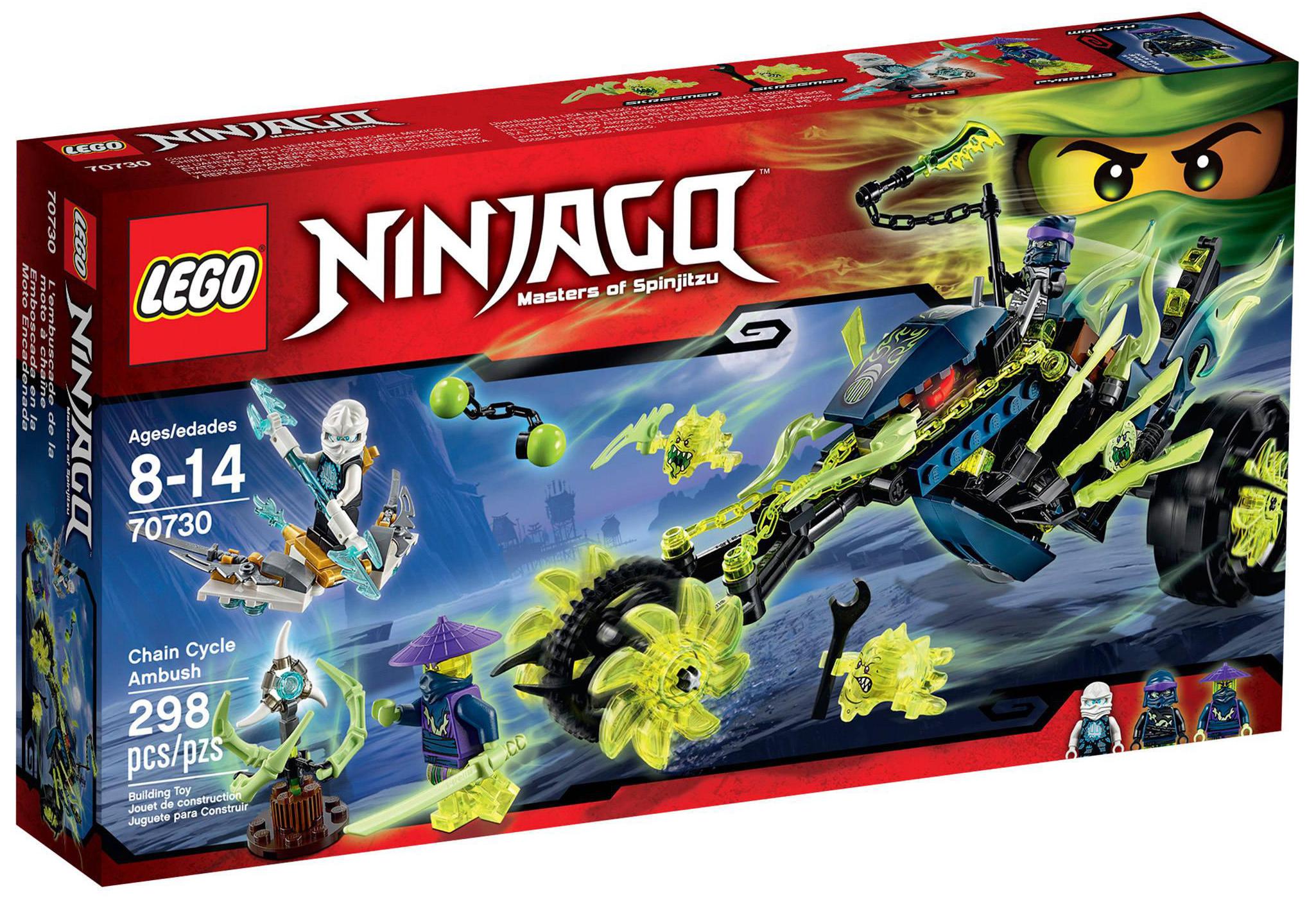 Lego ninjago 70730 pas cher la moto fant me de wrayth - Lego ninjago 4 ...