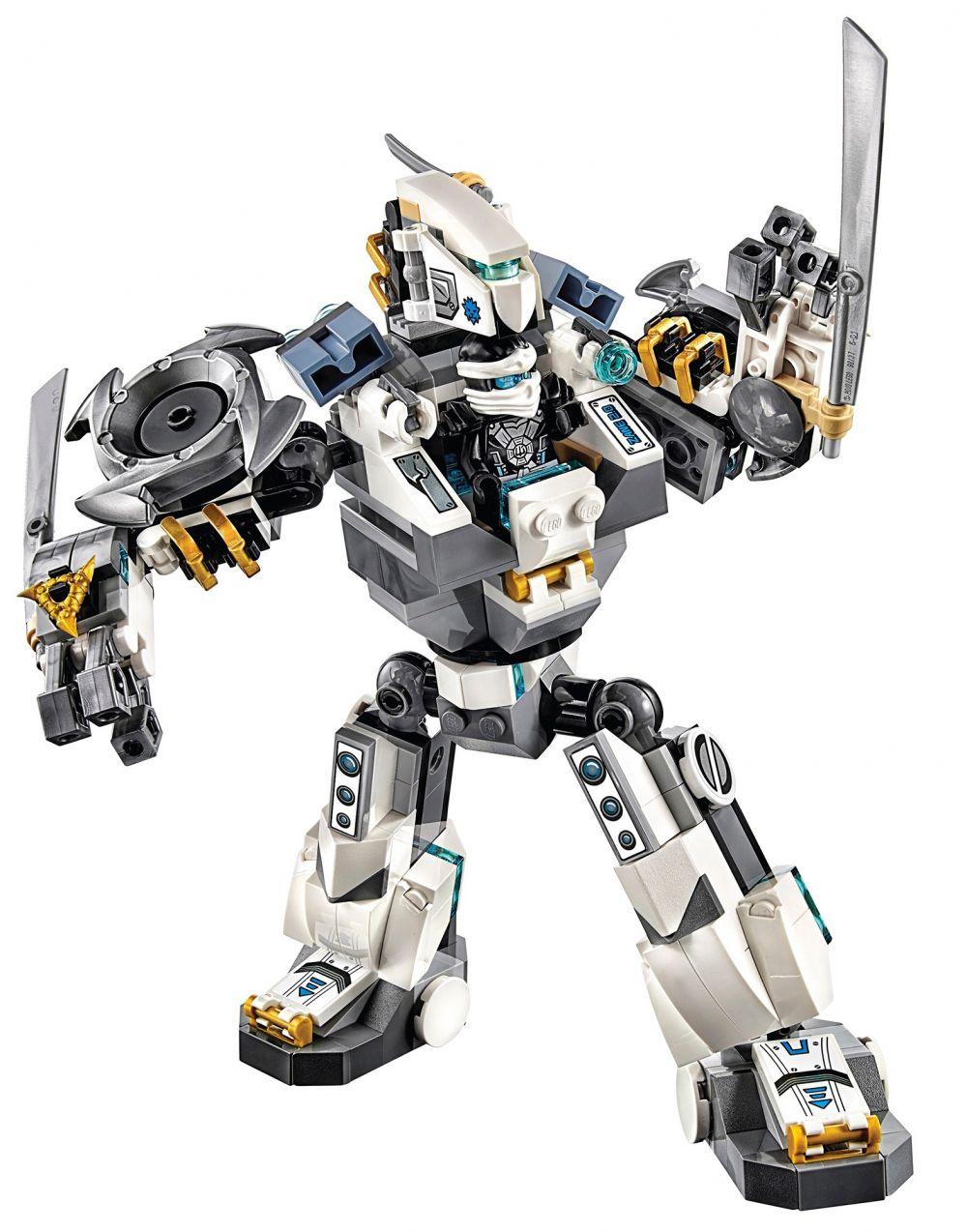 Lego ninjago 70737 pas cher le combat des titans - Ninjago lego zane ...
