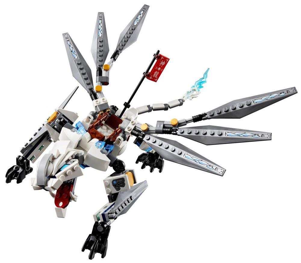 lego ninjago 70748 pas cher le dragon de titane. Black Bedroom Furniture Sets. Home Design Ideas