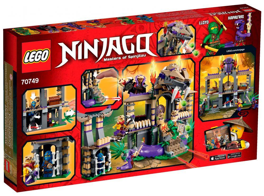 Temple Le Anacondra Ninjago 70749 Lego vm8n0NPOyw