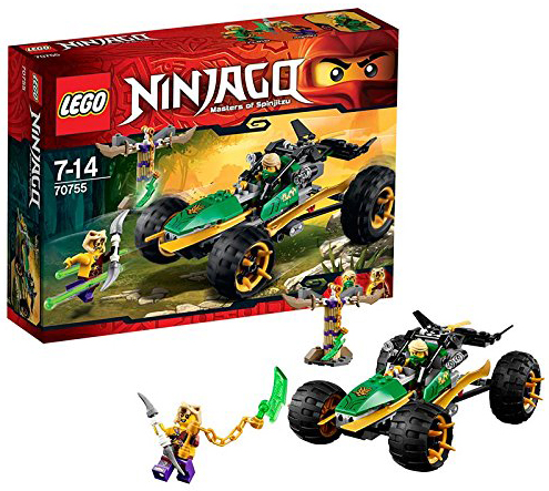 LEGO Ninjago 70755 pas cher  Le buggy de la jungle