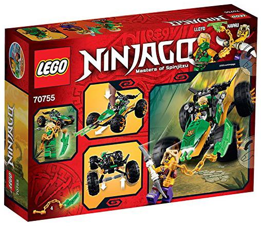 Lego 70755 Ninjago : Le buggy de la jungle LEGO ®  Magasin de Jouets pour