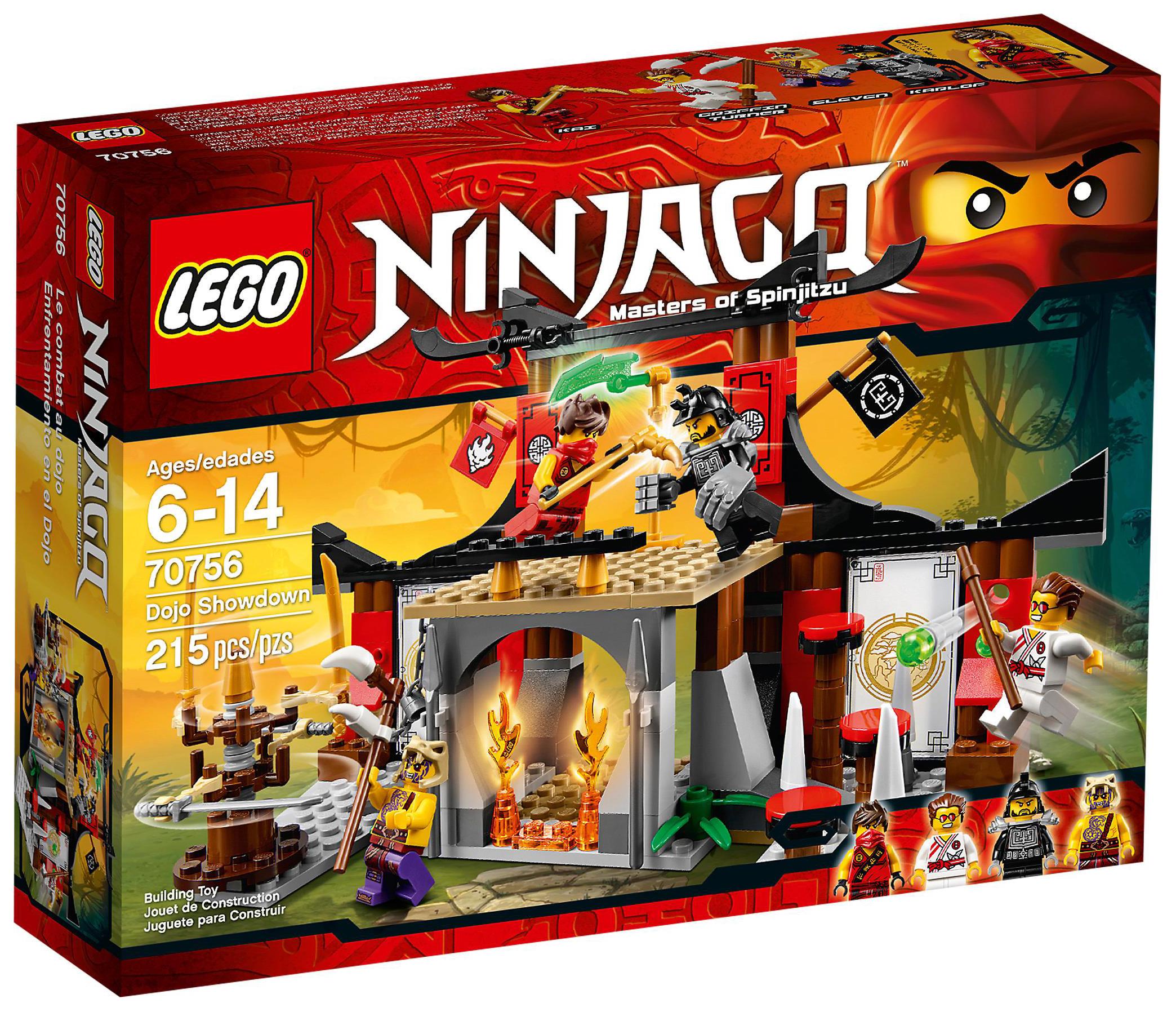 Lego ninjago 70756 pas cher le combat au dojo - Lego ninjago 4 ...