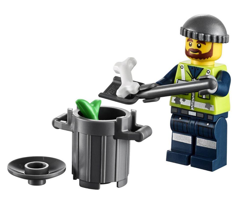 Lego the lego movie 70805 pas cher le camion poubelle for Poubelle broyeur