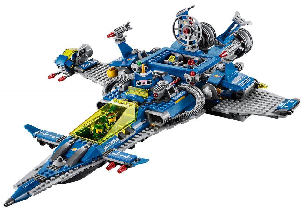 lego the lego movie 70816 pas cher le vaisseau spatial de benny. Black Bedroom Furniture Sets. Home Design Ideas