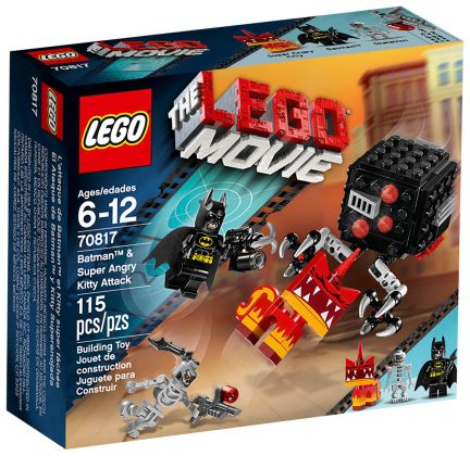 LEGO The LEGO Movie 70817 L'attaque de Batman et de Kitty Grrrr