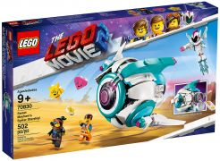 LEGO The LEGO Movie 70830 Le vaisseau spatial Systar de Sweet Mayhem !