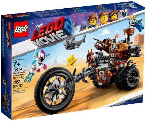LEGO The LEGO Movie 70834 Le tricycle motorisé en métal de Barbe d'Acier !