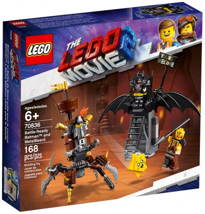 LEGO The LEGO Movie 70836 Batman en armure de combat et Barbe d'acier