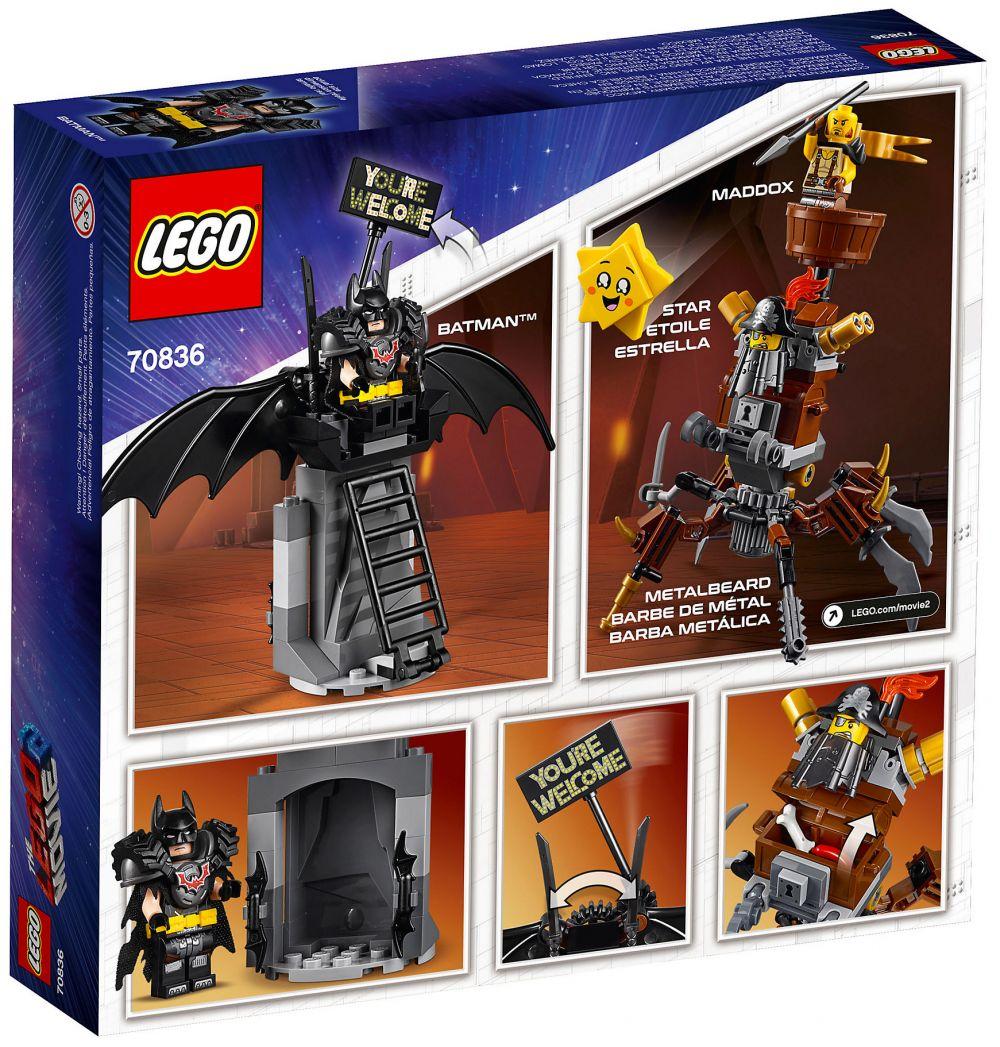 LEGO MOVIE 2 Bataille Prête Batman et MetalBeard 70836