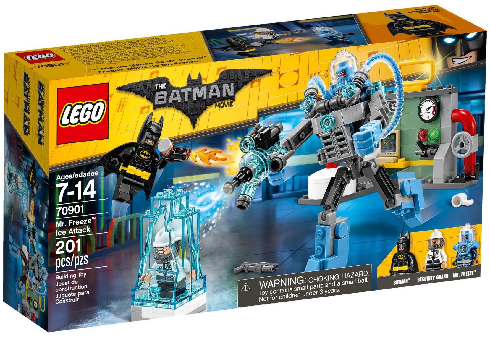 Batman Freeze Mister 70901 Lego CherL'attaque Pas Movie The Glacée De 0nyvmN8wO
